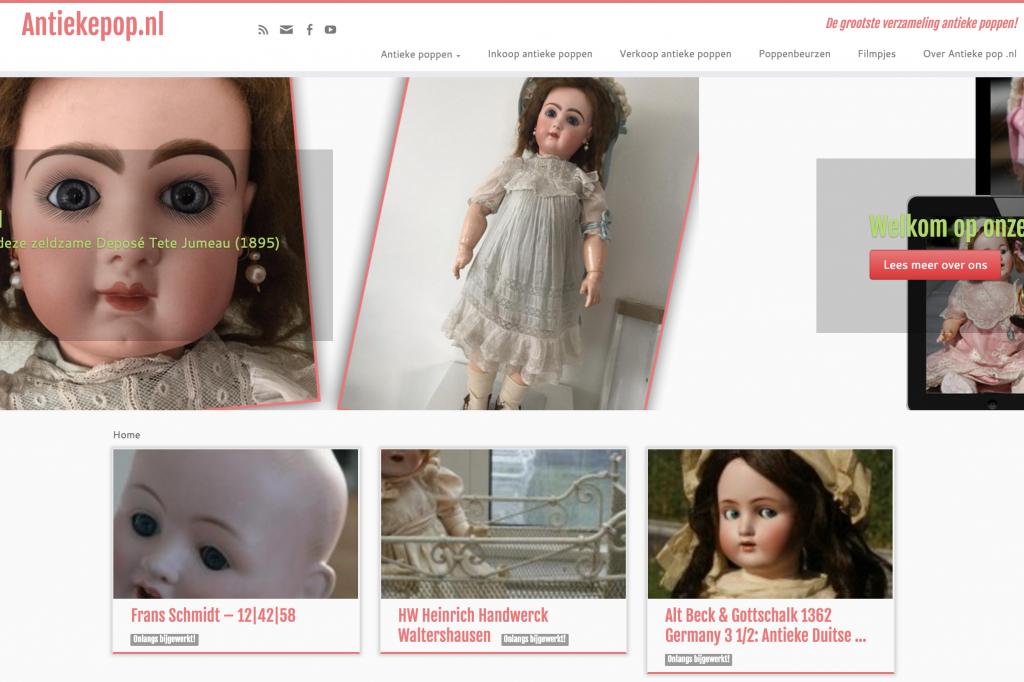 www.antiekepop.nl - De meest complete verzameling antieke poppen